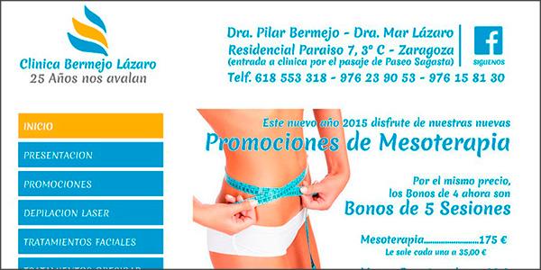 www.clinicabermejolazaro.com