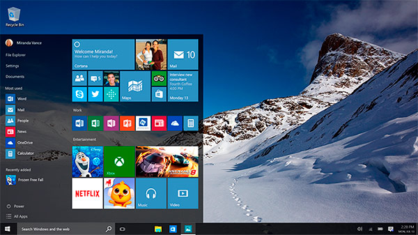 Forzar Descarga de Windows 10