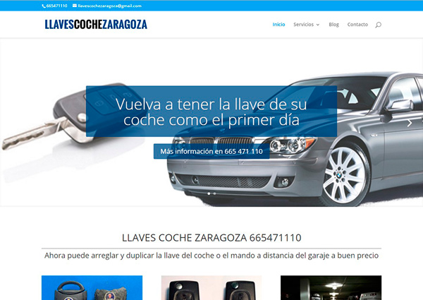 www.llavescochezaragoza.es